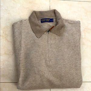 Men's hounds tooth Sweater , Polo Ralph Lauren , L